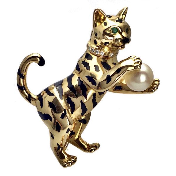 Cartier Brosche Tiger